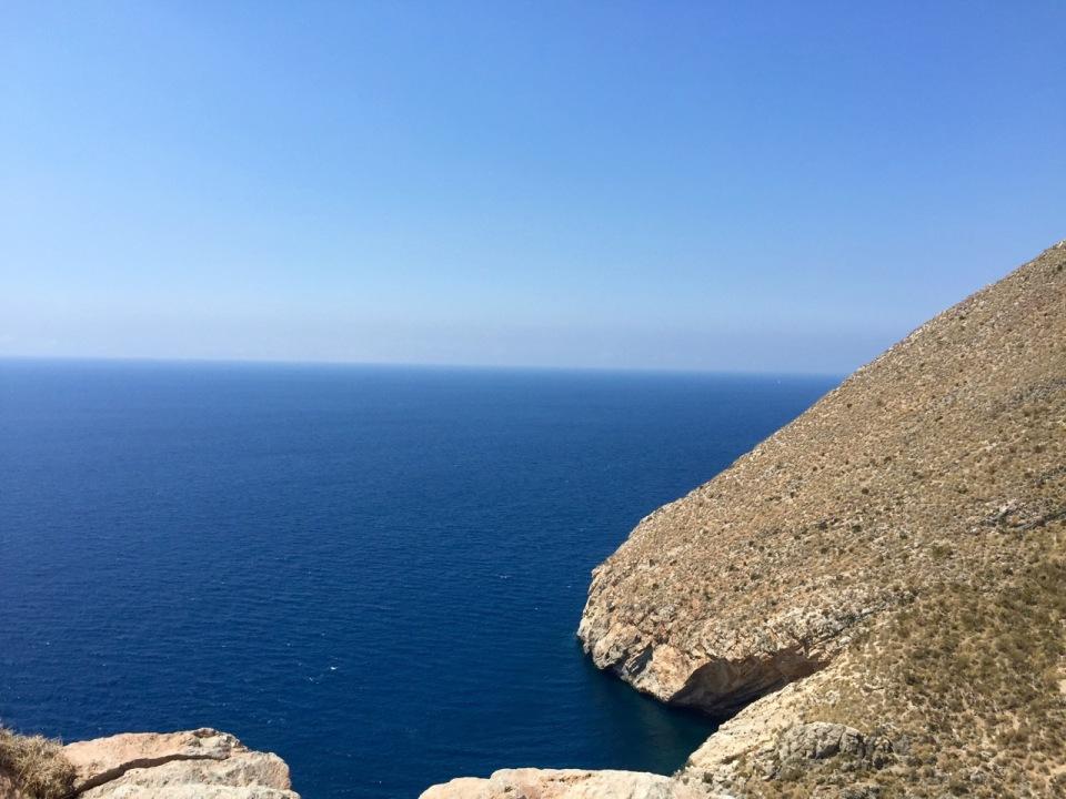 Near Gualchos, post big climb