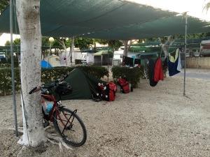 Campsite in Roquetas