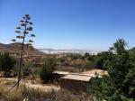 View down towards to coast from Nijar
