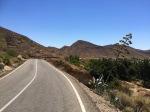 Climb continues up from Nijar