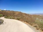 The top! Road down to Lucainena de Las Torres