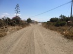 Dirt track on the way to Mazarron