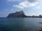 Calpe - does that rock look like a huge shark about to eat the town, or is it just me