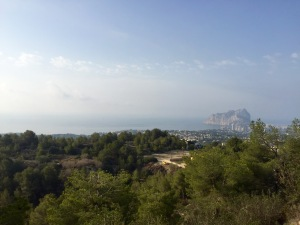 Climb out of Calpe