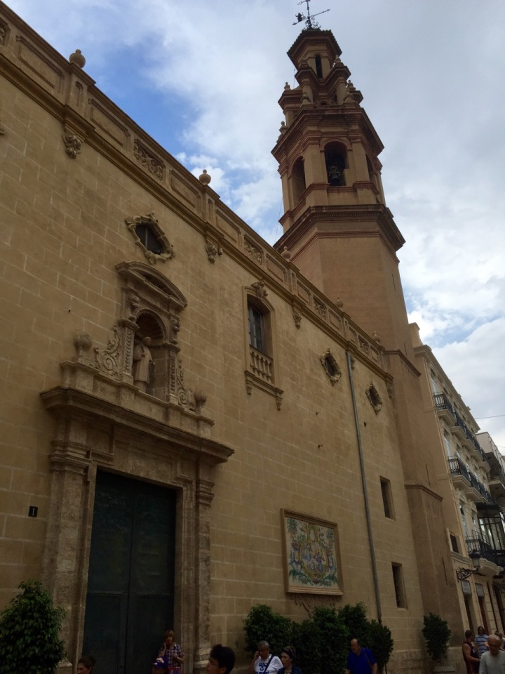 Valencia; another church