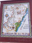 The tourist area of Castillon de la Plana