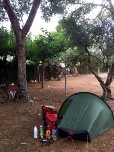 Azahar camping
