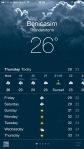 Stormy forecast in Benicasim