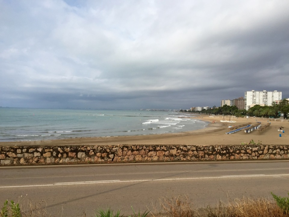 Overcast down by the sea, Benicasim