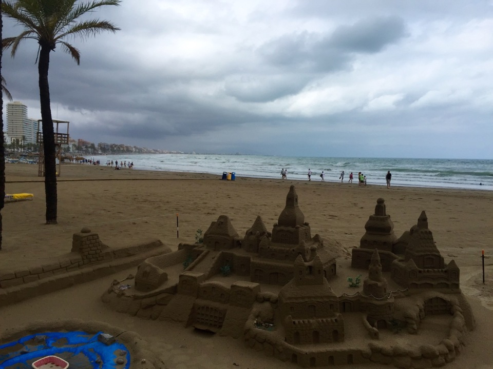 Good sandcastle, Peniscola