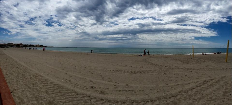 Beach at L'Hospitalet de l'Infant