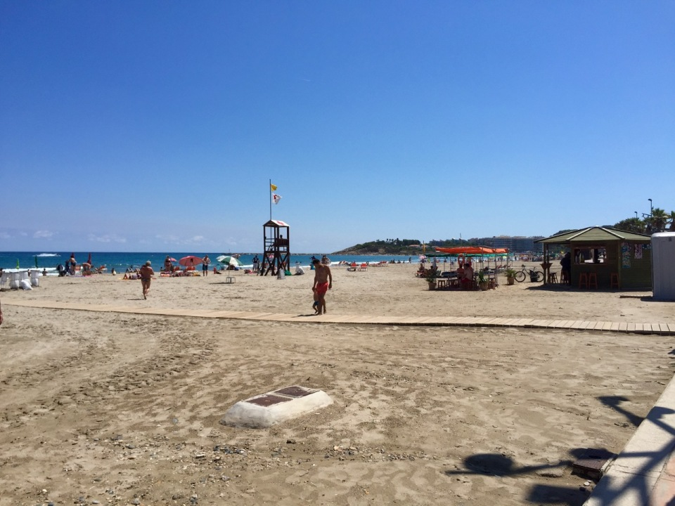 Beach in la Pineda
