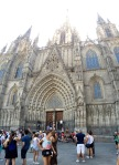 Cathedral panorama, Barcelona