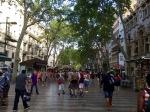 A wander down La Rambla, Barcelona