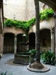 Quiet courtyard of another museum