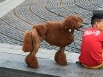A poodle, Barcelona