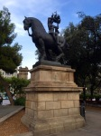 Not sure what this statue was all about, Placa de Catalunya