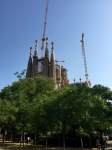 Sagrada Familia - still under construction