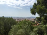 View from Park Guell over Barcelona