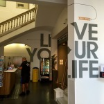 Live your life - leaving the hostel in Barcelona