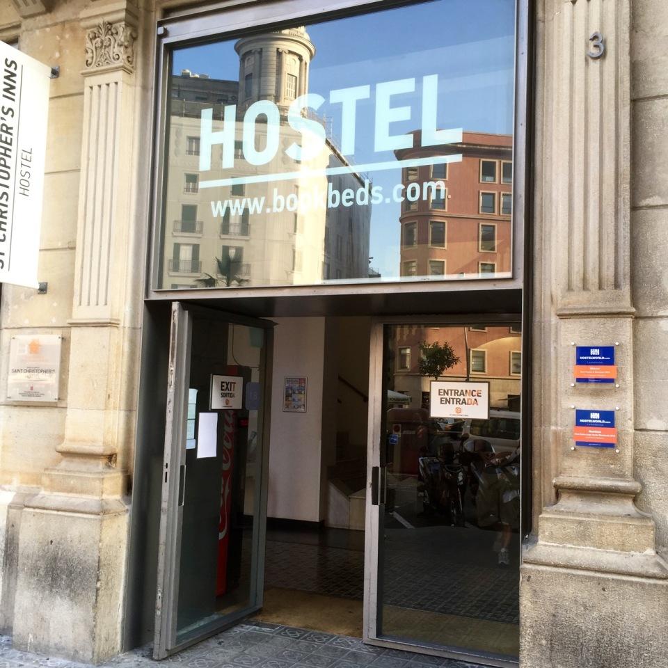 St Christopher's Inn hostel, Barcelona