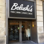 And attached restaurant - Belushi's