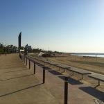Beach next to Barcelona