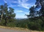 View back own towards the coast, Calonge