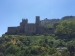 Castle at high point in Parque Natural Cap de Creus