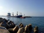 Port-la-Nouvelle - ship and tug