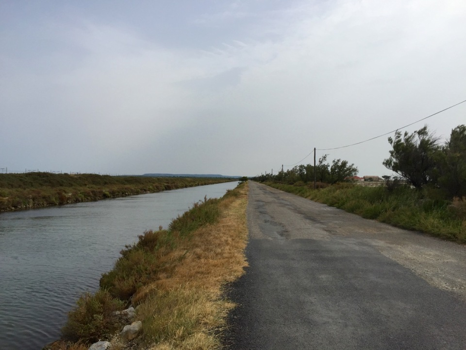 Canal path to Narbonne