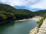 Wider stretch of the River Herault