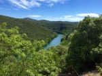 View down to the River Herault