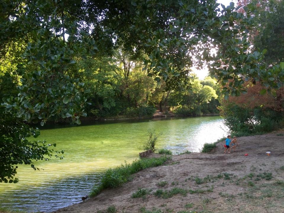 River next to Camping Tivoli