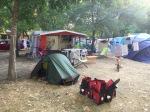 Packing at Camping Tivoli
