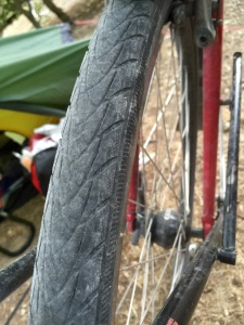 Current tyres have done well but replacements required