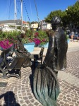 Statues in Martigues