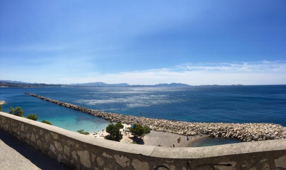 Marseille panorama, from L'Estaque