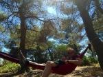 Me in hammock, siesta time