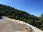 The road up Les Calanques
