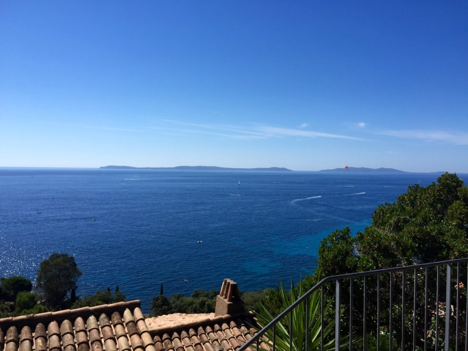 A brief detour into the hills in Rayol-Canadel-sur-Mer