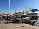 Many expensive motor cruisers - Le Vieux Port, Cannes