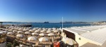Cannes panorama + cruise ships