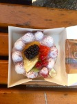 Tarte du jour - raspberry with other assorted fruits