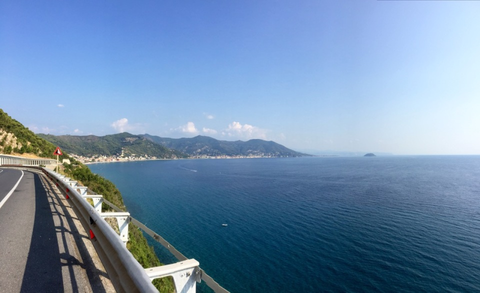 Some great sea views; Laigueglia,Liguria