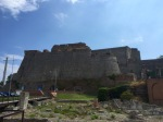 Fortress in Savona, with some Roman ruins