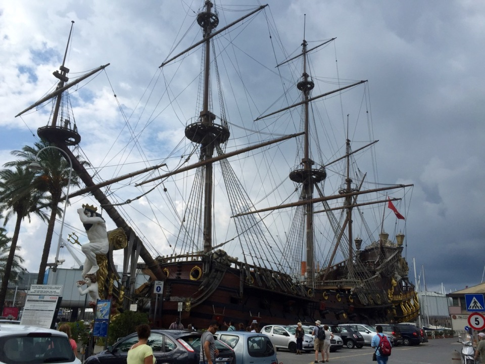 Pirate ship, Genoa