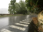 Ascending the Passo dei Giovi - rain getting harder