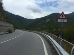 Rain stopped, nice ride down river valley, Ligurian Apennines