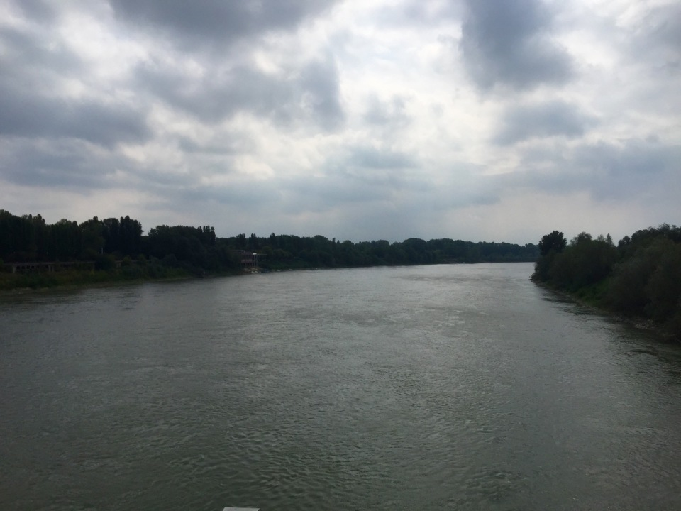 River crossing to Cremona